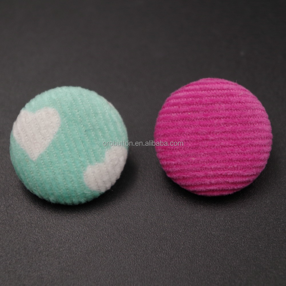 Wholesale fabric cover snap button for garment