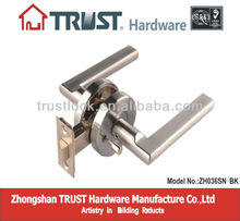 ZH036:trust Zinc Alloy Lever Handle door lock Privacy function