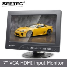 Lcd display usb touch screen 4wire reistive VGA Audio HDMI DVI 1080p full-hd video support 7 inch tft monitor