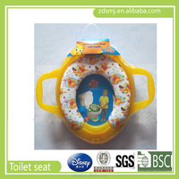 2016 China new design PP Plastic portable warm safe soft kids baby potty toilet seat color cheap price OEM factory for promotion