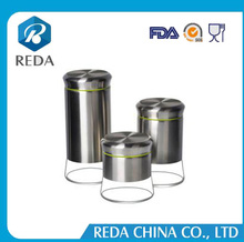 Wholesale high quality machine grade large number of bread bin biscuit tea coffee sugar canister set