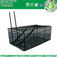Haierc 1 Door Humane Animal Live Cage,Rat Cage Trap for Rat, Mice, Mouse and More Small Rodents(HC2601M)