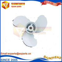 high quality marine parts outboard propellers with high efficient