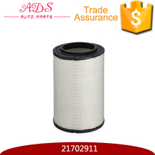 Replacement dust collector intake air filter for truck OEM: 21702911