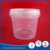 3.5 liter food grade clear plastic yogurt bucket