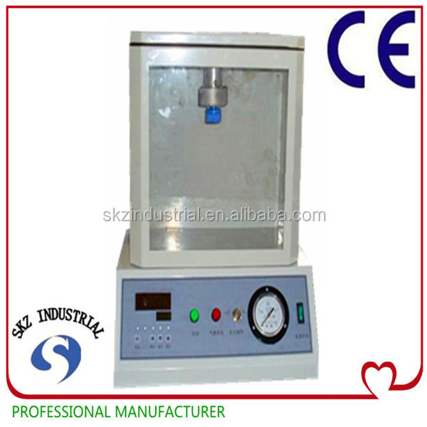 Positive packaging leak vacuum tester can