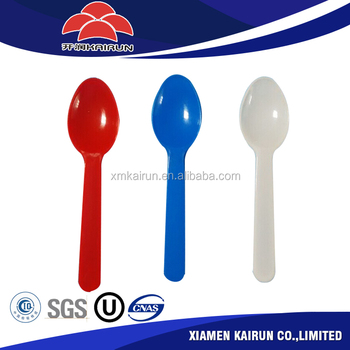 China factory provide top quality disposable plastic spoon / plastic soup spoon and fork