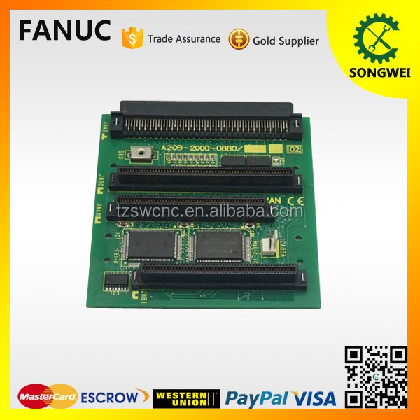 Fanuc tested and used electronic pcb board A20B-2000-0880