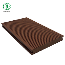 Sanding surface anti-slip, wide application outdoor wpc composite deck/flooring/outdoor floor covering for swimming pool