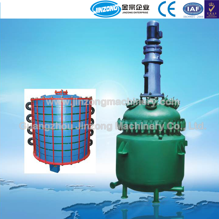 Jinzong Machinery reactor glass lined jacketed reactor