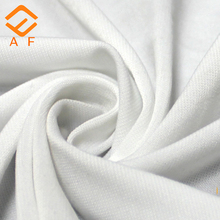 100% polyester material knitted double jersey fabric with good quality and best price