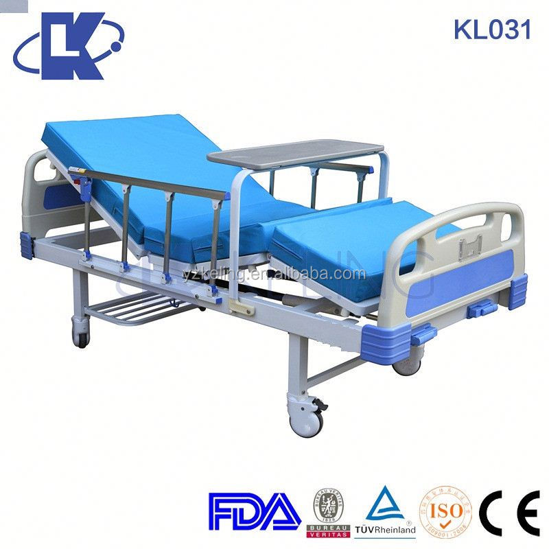 CE ISO FDA 3 function hospital bed semi fowler