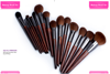 Factory direct sales cosmetic makeup brush , 15pcs makeup brush set