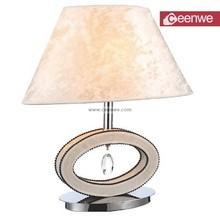 luxury hotel Metal crystal modern bedside wholesale table lamp