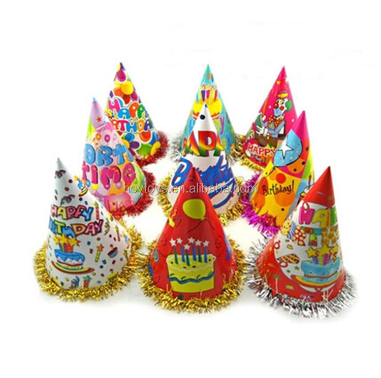 Wholesale cheap promotional birthday party cap