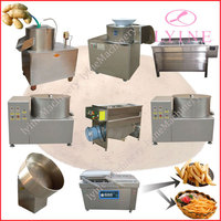 in the world most popular selling potato snacks making line for sale