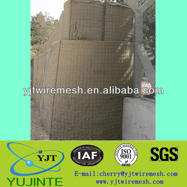 High Quantity Military Bunkers Hesco Barrier/Hesco Bastion(WEIAN,Factory ISO9001)