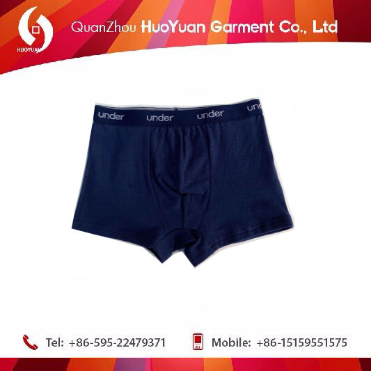 2017 HUOYUAN Gorgeous Cotton Boxers For Young Boy disposable underwear for kids