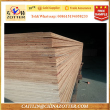 Hot Selling China Zotter WBP Glue 28mm High Quality Container Flooring Plywood