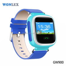 Wonlex Color Screen GPS Tracking Device Kids GW900S Locator Bracelet/SOS Best Cell Phone for Kids
