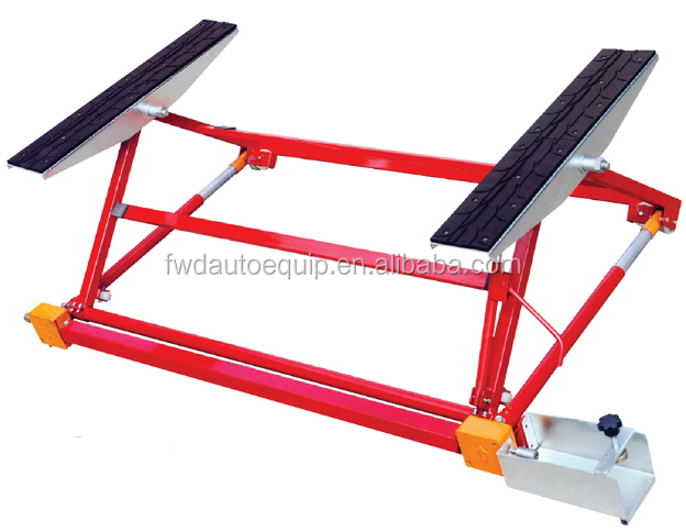 China portable mini tilting car lift for sale
