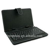 2013 Favorable Price keyboard and leather case for tablet