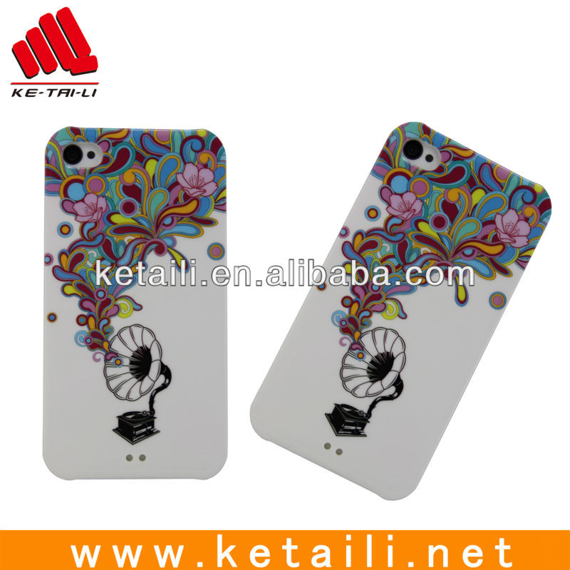Credit bank card silicone phone case for iphone 4S