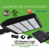 UL DLC Listed Parking lot led shoebox light 480w replacement 2*1000W HID HPS light