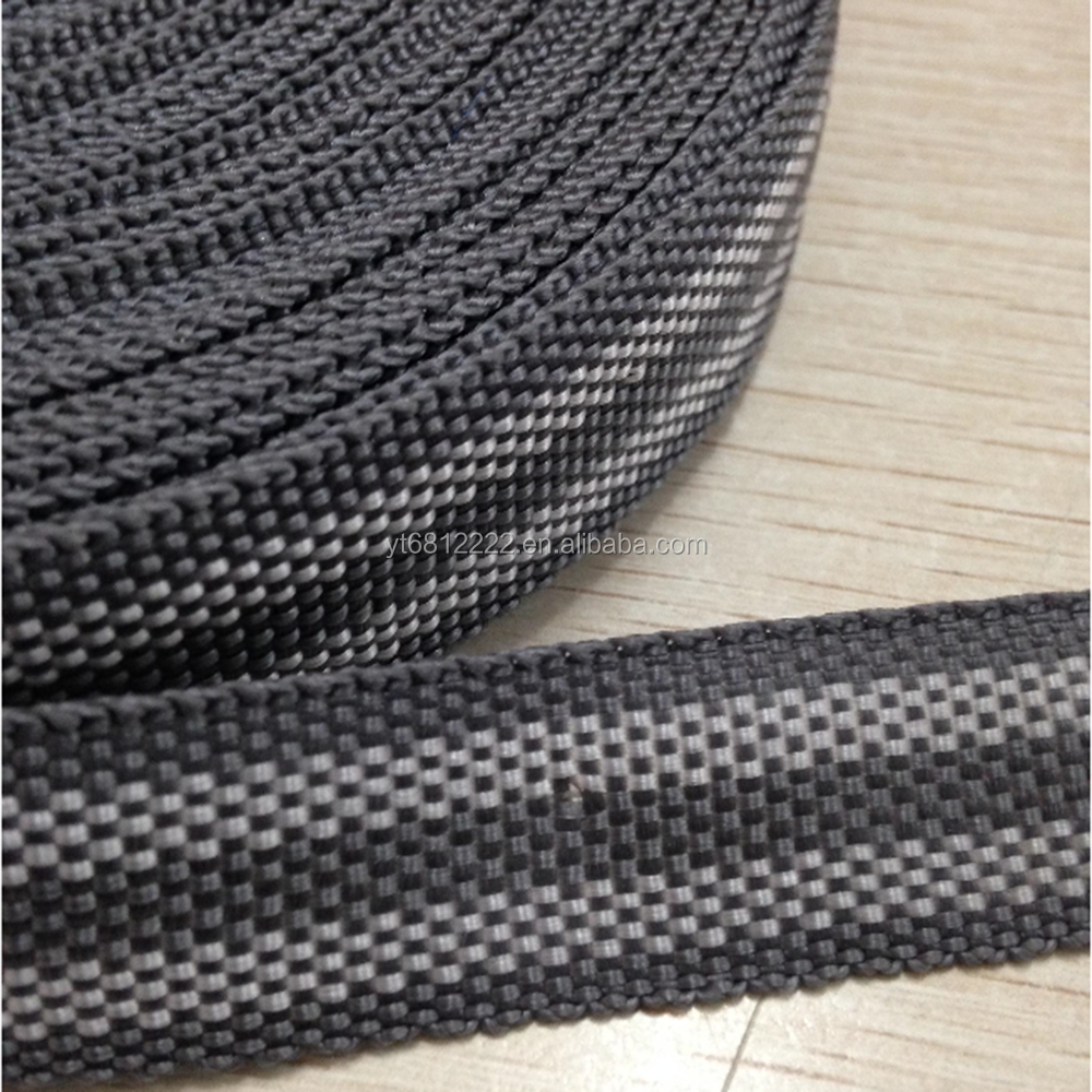 Good quality and low price pp webbing,pp tape,webbing for safety belts