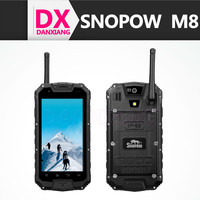 Original Snopow M8 IP68 Phone 4.5inch QHD Touch Screen Mobile Phone 1GB RAM 4GB ROM 8MP Camera Android Phone