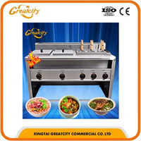 electric or gas or steam heating industrial electric cooking pot