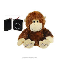 chinese new year plush toy monkey with mechanical module