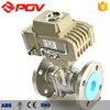2 way flange ball valve electrically operated ball valve