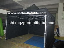 black inflatable folding tents