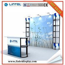 Factory supply portable aluminum exhibition booth 10*10ft exhibition booth LT-ZH007