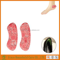 Lace Fabric Gel Sheepskin Shoe Liner