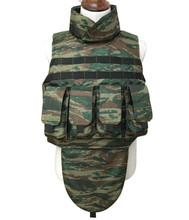 Military Molle Magazines Full Body Armor Bulletproof Vest With Neck Shoulder Crotch Protection