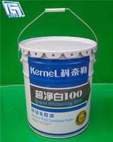 18L galvanized steel bucket/drum for liquid or power storage, for sale