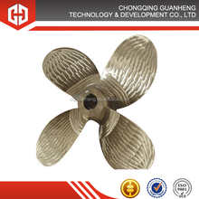 Marine four blade fixed pitch propeller