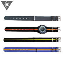 China best-selling products fashion style custom nylon watch strap / nylon watch band strap with multi color