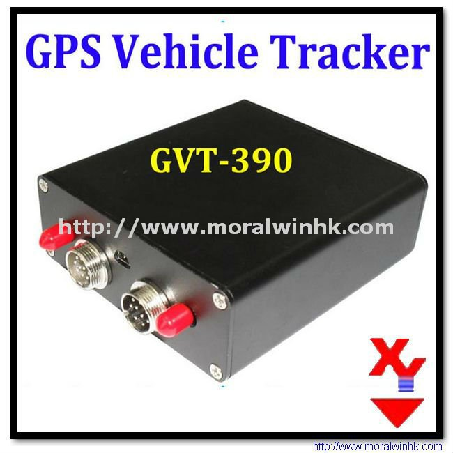 Two RS 232 Interfaces ARM 7 Solution GPS + LBS GVT-390 Vehicle GPS Tracker