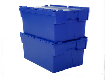 Hot sale plastic stackable boxes
