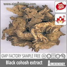 High Quality Black Cohosh Extract/Actein Cimicifugosideblack cohosh p.e. black cohosh supplement