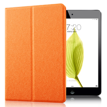 Premium PU Leather Smart Origami Style tablet case kids cover for ipad mini123 for ipad mini2