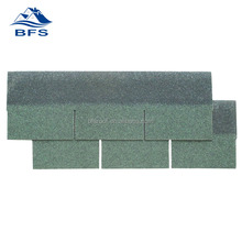 BFS factory with ISO sale High Quality Raw Materials low price for Duplex House material of 3-tab green asphalt shingles