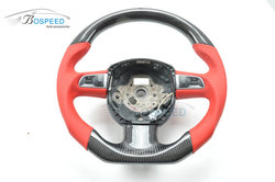 Customized Carbon Fiber Steering Wheel multifunction steering wheel For Audi A5