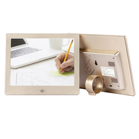 1024x768 digital photo frame 8 inch with metal shell