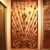 the antique design stainless steel partition wall,screen,divider