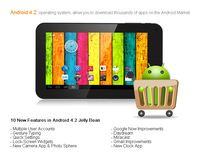 Global hot sales! android 4.2.2 mini drawing tablet