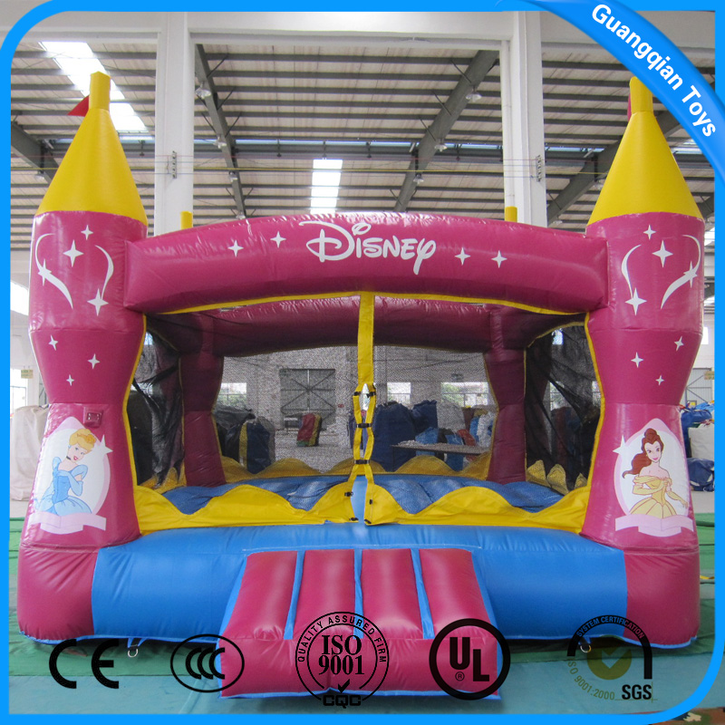 Guangqian New Design Princess Royale Cheap Inflatable Bounce House